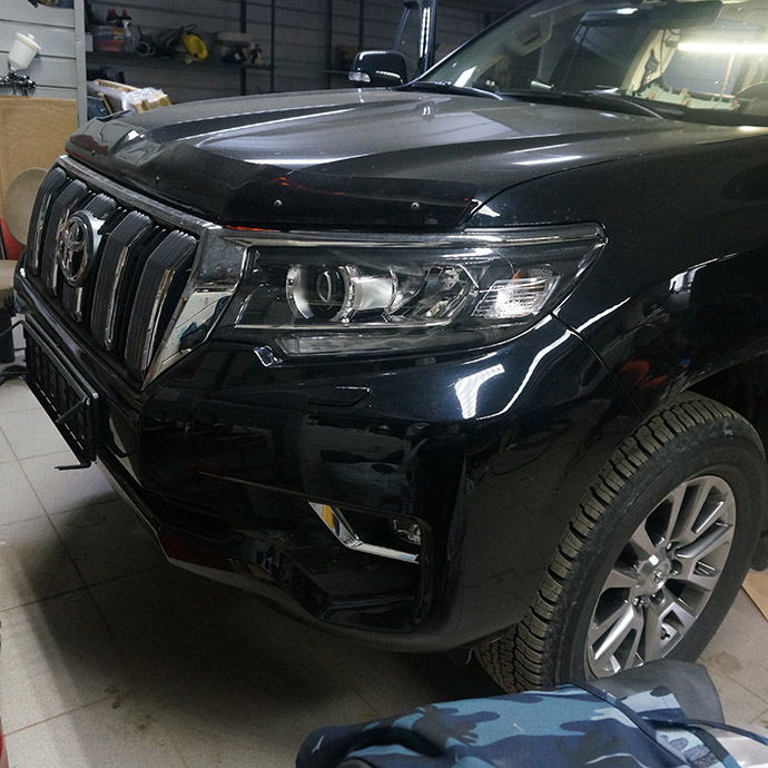 Шумоизоляция Toyota Land Cruiser Prado